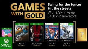 Games With Gold In May 2018 With Metal Gear Solid 5 More Xbox Games Xbox 360 Games Xbox One