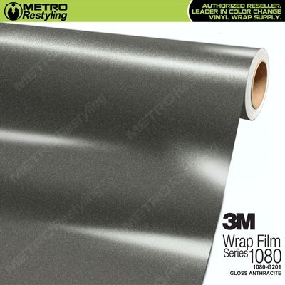 3M 1080 Gloss Anthracite Vinyl Wrap   G201   Projects to try