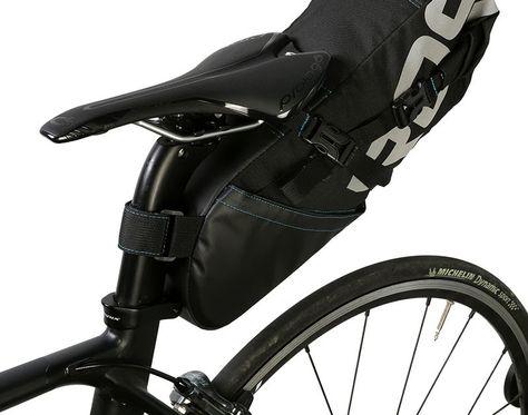 Free Shipping Roswheel Bicycle Tail Bag Wrap Up Closure Volume