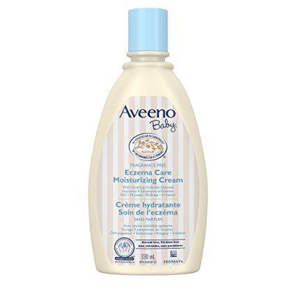 Aveeno Baby Eczema Care Moisturizing Body Cream Ceramides Paraben Free Collodial Oatmeal 330ml