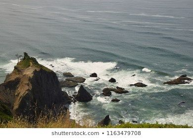 Lincoln City God S Thumb Oregon Coast Shutterstock Mountains Beauty Outdoor Photography Landscape Westcoast Oce Photo Oregon Coast Stock Images Free