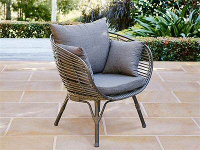 Elegant Mimosa Waiheke Deluxe Half Egg Chair | Outdoor Furniture | Pinterest | Egg  Chair, Outdoor Living And Galleries