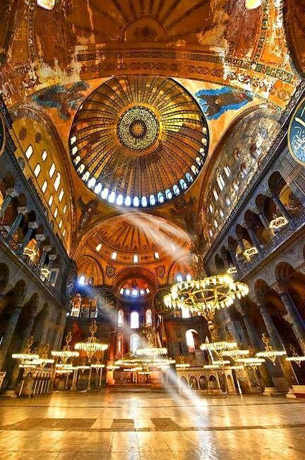 Istanbul - hagia sophia - ayasofya http://magnificentturkey.com #Istanbul #Turkey #Türkiye