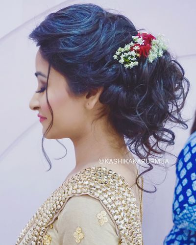 Kashika Kapur Bridal Hair Buns Bridal Hair Mom Hairstyles