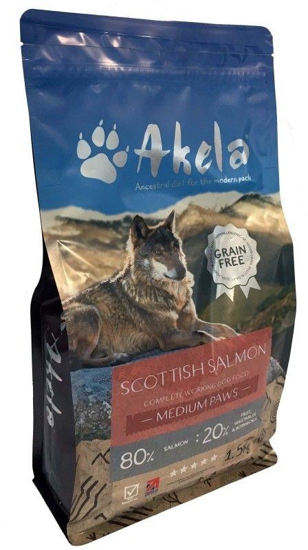 Hunde Trockenfutter Akela Scottish Lachs Big Paws Hunde Futter Hunde Getreidefreies Hundefutter