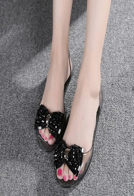 discount sale super cheap top brands Ladies Simple Black Shoes With Heavy Boo Style | Beautiful shoes ...