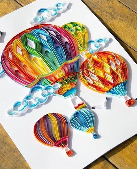 *** Quilling - the magic of paper strips! *** - - #Magic #Paper #Quilling #Strips