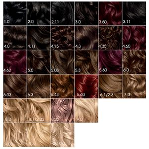 Found On Google From Target Com Olia Hair Color Hair Color Chart Hair Color Guide