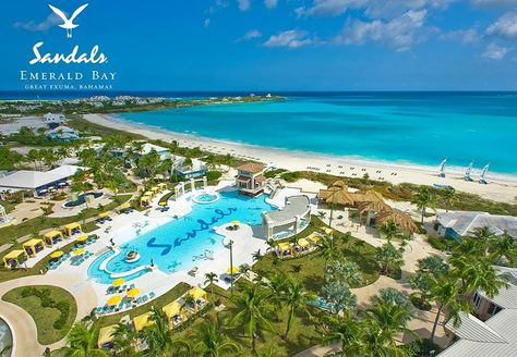 Bahamas at either Sandals Emerald Bay or Sandals Royal