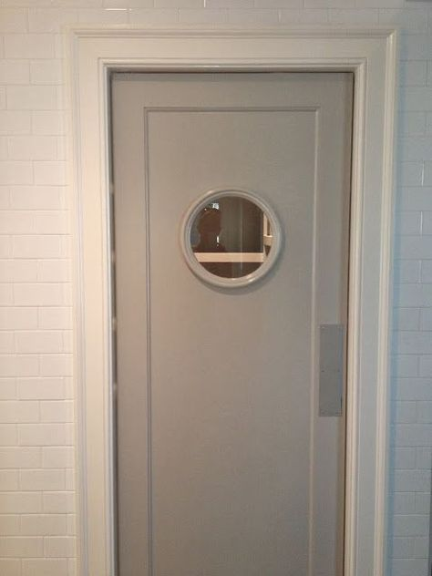 butler's pantry/laundry room door with porthole window