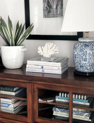 Kinesisk lampfot i blå och vit porslin i 2020 | Kaffebord