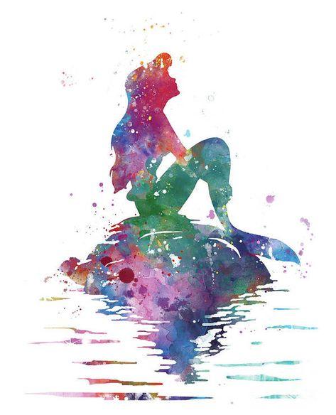 Ariel Poster by Monn Print