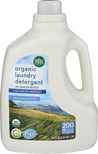 Whole Foods Market Organic Laundry Detergent 17 Organic