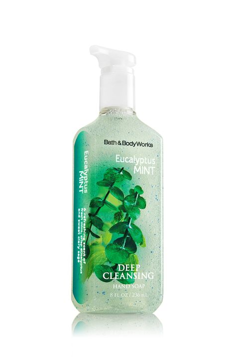 Eucalyptus Mint Deep Cleansing Hand Soap Soap Sanitizer Bath