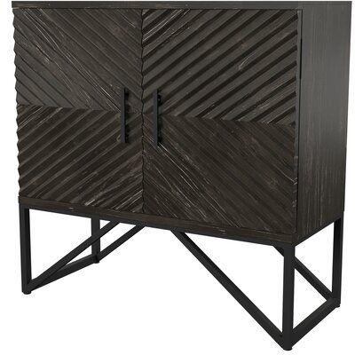Mercury Row Matthews 2 Door Accent Cabinet Cabinet Affordable Furniture Wood Metal