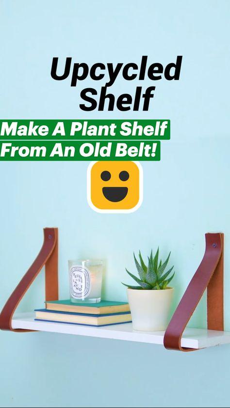Make Your Own Plant Shelf!