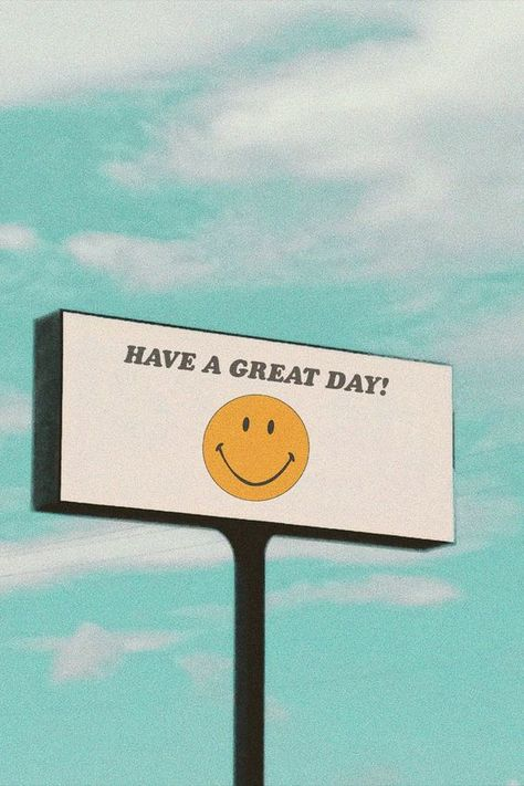 Have a great day! billboard wall art print Have a great day! Comes in two sizes: and in. With every purchase, we donate of profits to Mental Health America. Collage Mural, Bedroom Wall Collage, Photo Wall Collage, Art Mural, Collage Ideas, Wall Art Collages, Art Art, Quote Collage, Collage Background