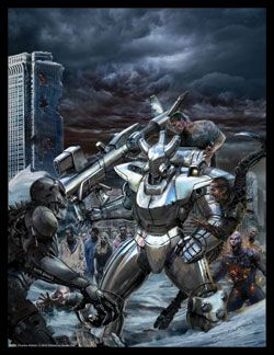 Chrome And Carnage Print Chaos Earth Rifts Rpg Pinterest