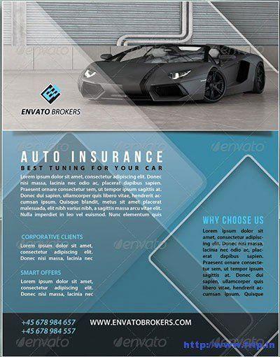 Auto Insurance Template New 30 Best Insurance Flyer Print Templates In 2021 Best Insurance Flyer Printing Car Insurance