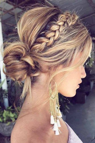 80 Dreamy Prom Hairstyles For A Night Out Lovehairstyles Com Guest Hair Braided Hairstyles For Wedding Easy Summer Hairstyles