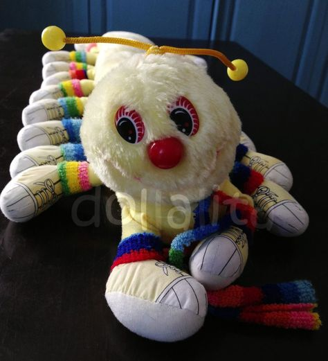 1983 Vintage Liebe A Lot Pink Care Bear Kenner Original Plüschtier Plüschtier Teddys