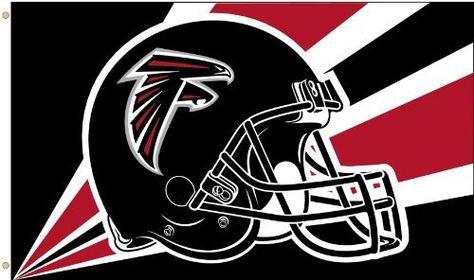 17074f75900 NFL Atlanta Falcons 3-by-5 Foot Helmet Flag by Fremont Die.  19.99 ...