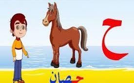 مجموعة أسماء حيوان بحرف الحاء Arabic Alphabet For Kids Learning Arabic Learn Arabic Online