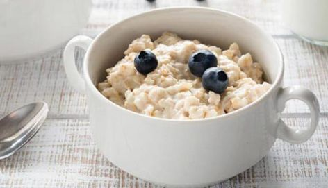 The best #breakfast food that you can choose from the #heart healthy foods list is oatmeal. #Oatmeal is a great source of soluble fibre which contains a special compound called beta-glucan that can reduce the amount of bad #cholesterol (#LDL) in your body. Oatmeal also helps in an easy #digestion and also keeps your #stomach full which helps in weight loss so that there is no chance of #overweight #weightloss  #oatmealrecipeshealthy #oats #hearhealthyfoods