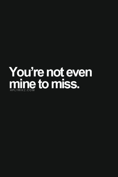 But I miss you with all that I am. I don't deserve to want more but I want ALL of you.