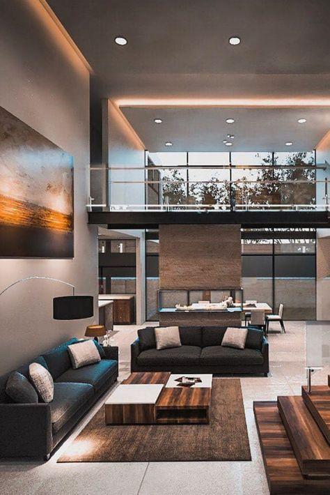 Amazing 41 Inspiring Modern Living Room Decor for Your House http://rengusuk.com/2019/04/12/41-inspiring-modern-living-room-decor-for-your-house/
