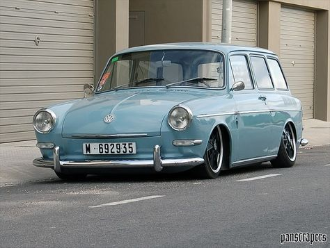 VW Squareback... have a new love for these ever since seeing one at a show last weekend!