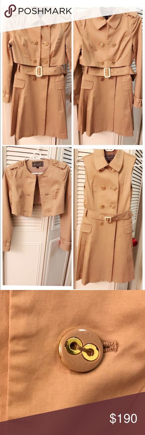 Trench coat (size 00) Three-in-One: Can be a trench coat ...