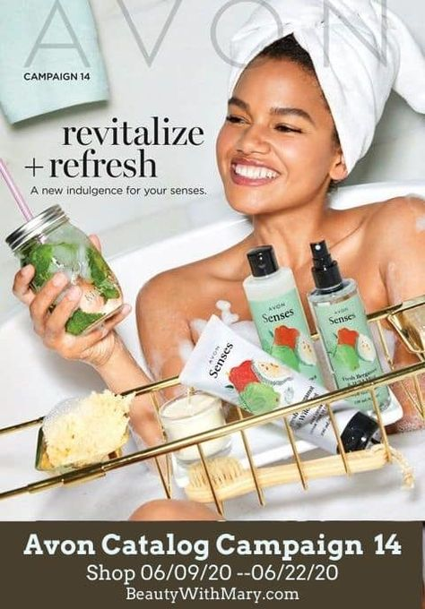 What's New in Avon Campaign 14 2020 Catalog View the current Avon campaign 14 2020 catalog online from your smartphone, tablet, laptop, or computer. Mary's online Avon Store is open 24/7 for your shopping convenience. Avon products catalog is packed with best sellers and great low prices. Check out the latest Avon what's new products… The post Avon Campaign 14 2020 appeared first on Order Avon Online - Shop Current Brochure.