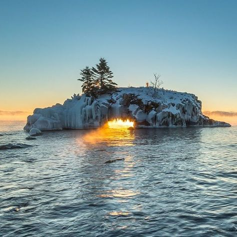"""Dragon's Breath"" on Lake Superior in Minnesota's North Shore region. Sweet capture by (at)traunfoto! Share your #midwestmoment for a chance to be featured on our Instagram feed!"