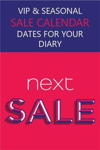 Next Sale Dates 2020 Seasonal Sale Calendar Vip Slot Tips In
