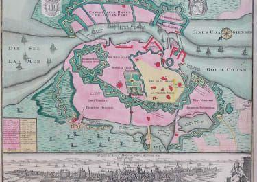 Seutter S Stunning Map Of Crete Michael Jennings Antique Maps And Prints In 2020 Antique Maps Copenhagen Antiques