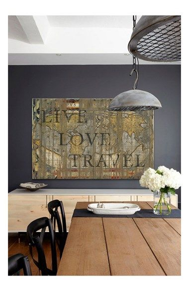 Live Love Travel - Canvas Art