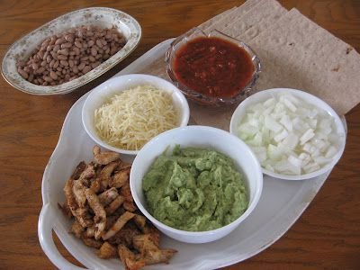 Tasty Burrito Bar Easy And Healthy Meal For A Large Group Or Just Dinner