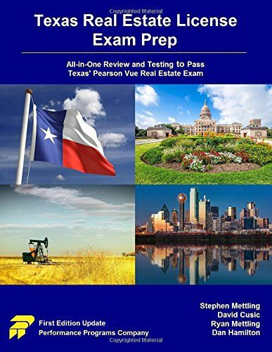 Download Pdf Texas Real Estate License Exam Prep Allinone Review And Testing To Pass Texas Pearson Vue Real Estate Exam Real Estate License Texas Real Estate