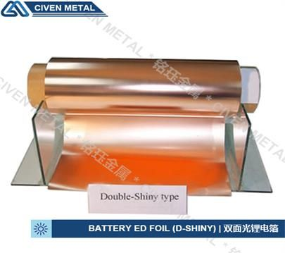 Double Shiny Ra Red Copper Foil For Fpc Maximum Width 650 Dimension Range Copper Foil Thickness From 12 100µm Can Be Supplied For F Copper Foil Foil Copper
