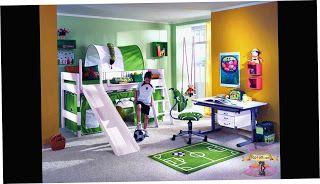 احدث الوان دهانات و ديكورات غرف نوم الاطفال 2021 Awesome Bedrooms Cool Kids Bedrooms Kid Room Decor