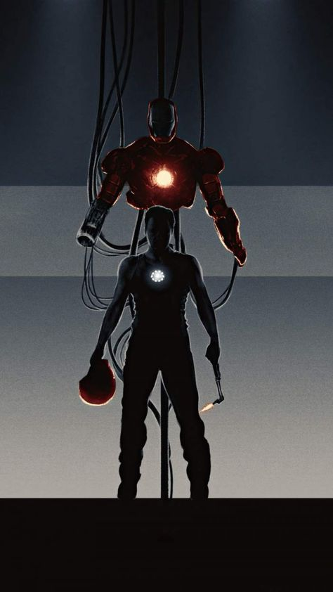 The Iron Man - IPhone Wallpapers