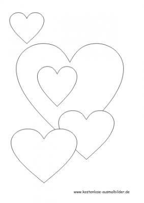 Malvorlage Herzen Kostenlose Ausmalbilder Ausmalbilder Vorlagen