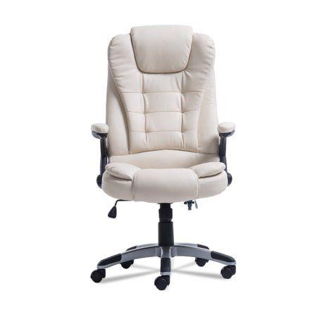 360 Degree High Back Executive Adjustable Leather Ergonomic Desk