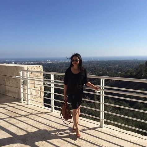 #gettymuseum #gettycenter #views #losangeles #LA #museums #oceanviews #clearday    #Regram via @ncc_nicolas)