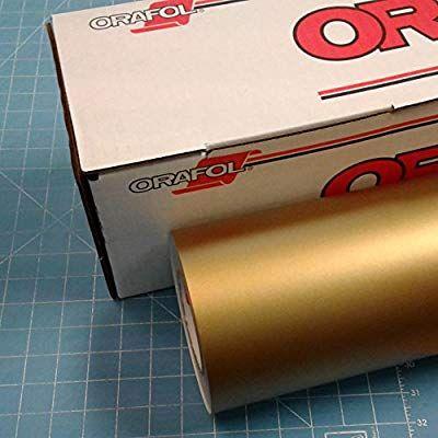 13 Gold 12 X 10 Ft Roll Of Oracal 631 Vinyl Vinyl Signs Oracal Vinyl Vinyl Decals
