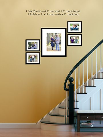 13 best Wall Portrait Display Ideas images on Pinterest | Display ...