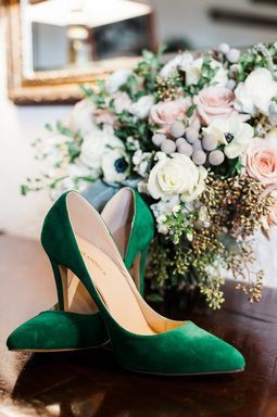 Forest Green Suede Wedding Shoes  Emerald green wedding shoes