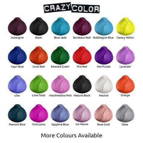 Crazy Color Semi Permanent Hair Color Dye Tint Bubblegum Blue 63