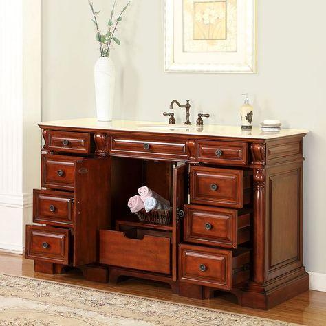 turk 62 single bathroom vanity set bathroom vanities pinterest rh pinterest com